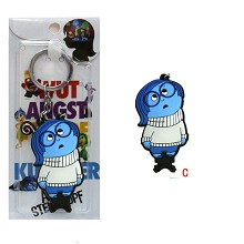 Inside Out anime anime key chain