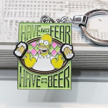 The Simpsons key chain