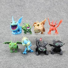 How to Train Your Dragon figures st(8pcs a set)