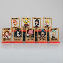 One Piece figures st(9pcs a set)