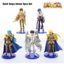 Saint Seiya figures set(5pcs a set)
