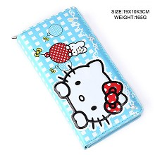 Hello Kitty anime long wallet