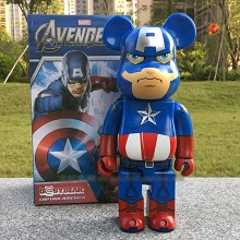 Bearbrick cos Captain America figure