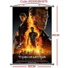 The Terminator wall scroll(60*90CM)