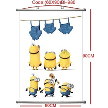 Despicable Me wall scroll(60*90CM)