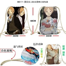 Natsume Yuujinchou anime drawstring backpack bag