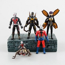Ant-Man figures set(5pcs a set)