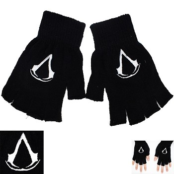 Assassin's Creed anime cotton gloves a pair