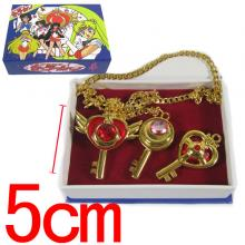 Sailor Moon necklaces set(3pcs a set)