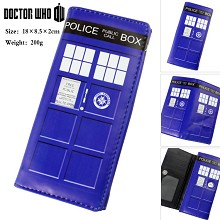 Doctor Who anime long wallet
