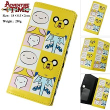 Adventure Time anime long wallet