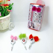 Star Angelababy Mini headphone(price for one)