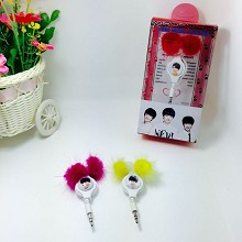 Star Wang Yuan Mini headphone(price for one)