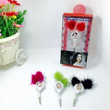 Star Zhao Liying Mini headphone(price for one)