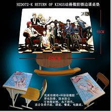 K RETURN OF KINGS Rubber table mat