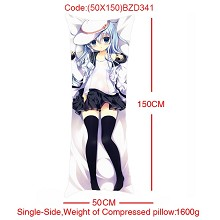 The sexy anime single side pillow 50*150