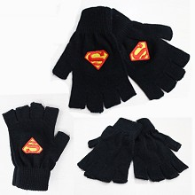 Super Man anime cotton gloves a pair