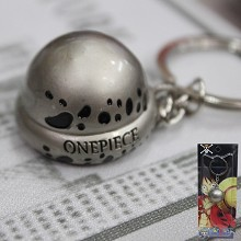 One Piece Law hat key chain