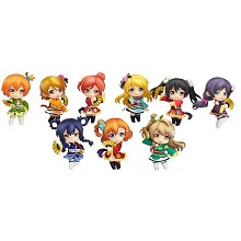 Love Live anime figures set(9pcs a set)