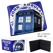 Doctor Who anime wallet