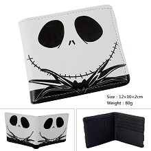 The Nightmare Before Christmas JACK anime wallet