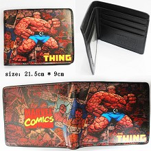 Stan Lee Meets The Thing wallet