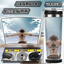 One Piece anime cup