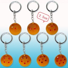 Dragon ball anime key chains set(7pcs a set)
