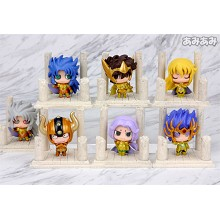 Saint Seiya anime figures set(7pcs a set)