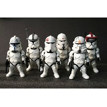 3inches Star Wars figures set(6pcs a set)