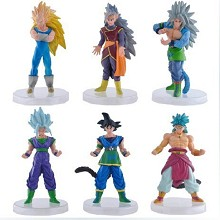 Dragon ball anime figures set(6pcs a set)