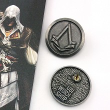 Assassin's Creed brooch pin