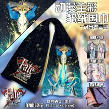 Fate stay night anime anime scarf