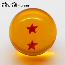 Dragon ball figure two star 35MM