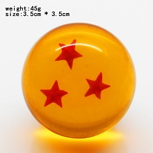 Dragon ball figure three star 35MM