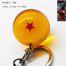 Dragon ball figure key chain one star 35MM