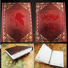 EVA anime hard cover notebook(120pages)
