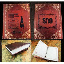 Sword Art Online anime hard cover notebook(120page...