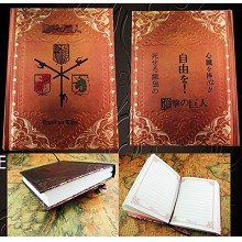 Attack on Titan anime hard cover notebook(120pages...