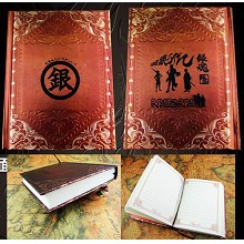 Gintama anime hard cover notebook(120pages)