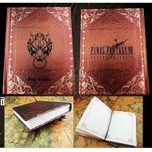 Final Fantasy anime hard cover notebook(120pages)