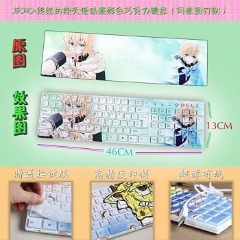 Seraph of the end anime keyboard