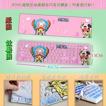 One Piece anime keyboard
