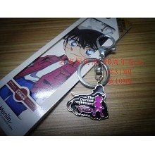 Detective conan 20th anime key chain