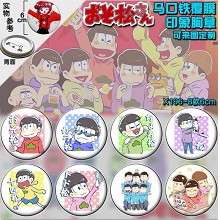 The anime brooch pins(8pcs a set)
