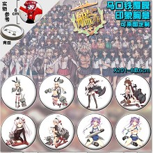 Collection anime brooch pins(8pcs a set)6CM