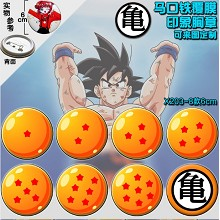 Dragaon Ball anime brooch pins(8pcs a set)6CM