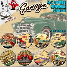 The cars  brooch pins(8pcs a set)6CM