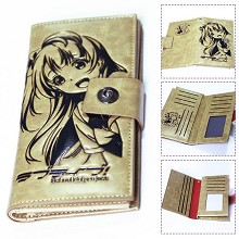 Love live anime long wallet