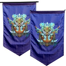 League of Legends cosplay flag